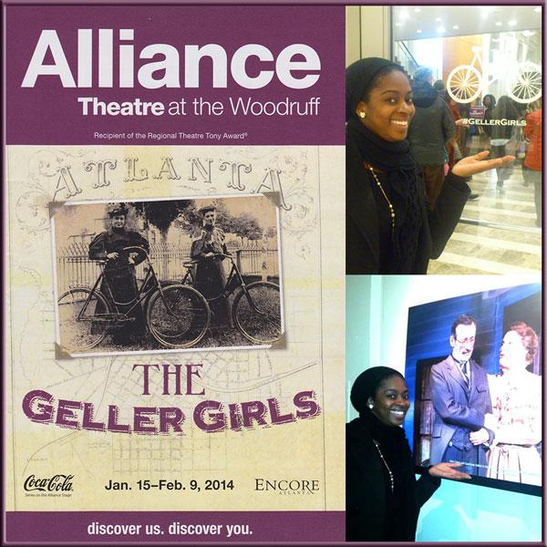 The Geller Girls Atlanta Alliance Theatre