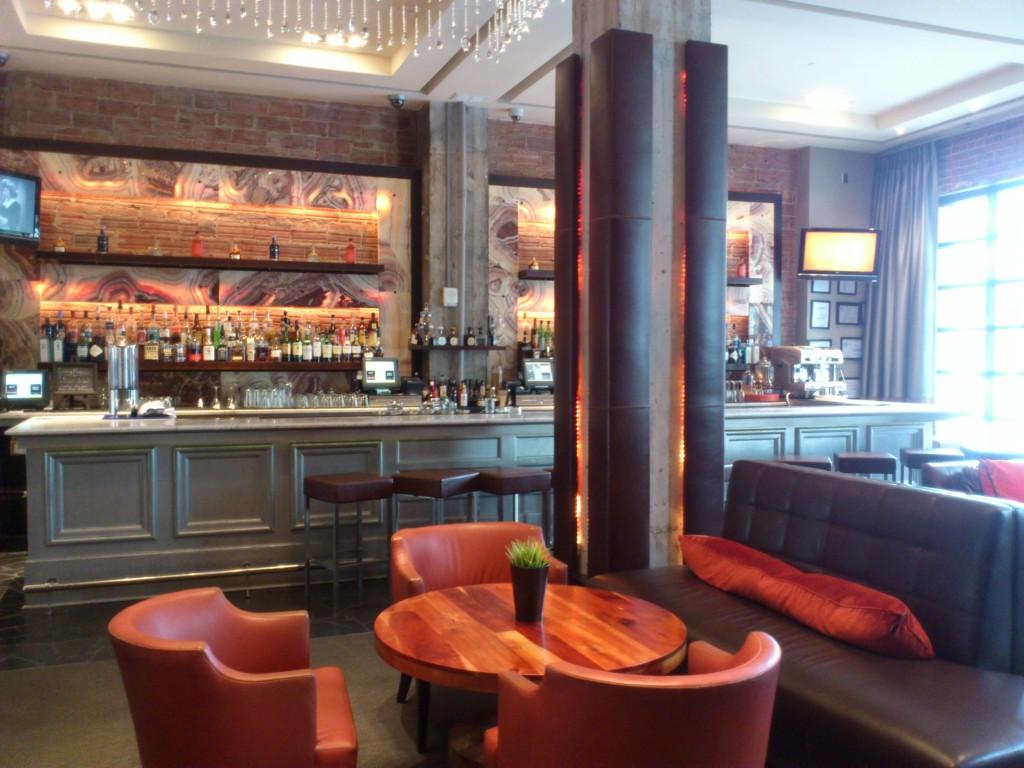 Glenn Hotel Lobby daytime