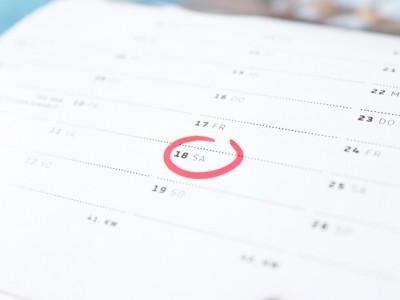 calendar, goals