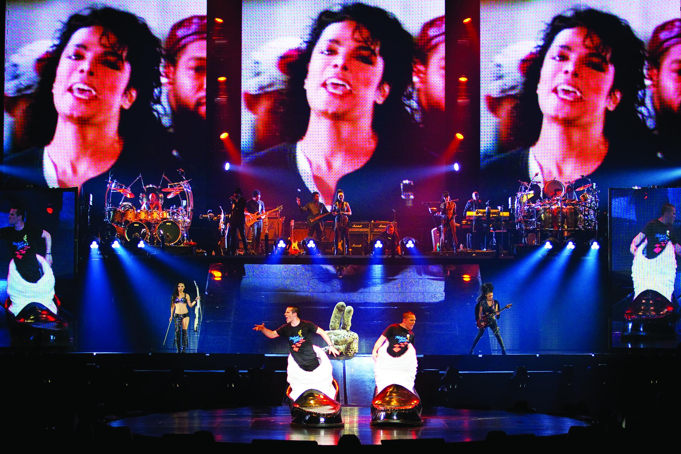 Beat It Cirque du Soleil Michael Jackson Tour