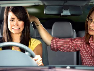 teaching teens to drive