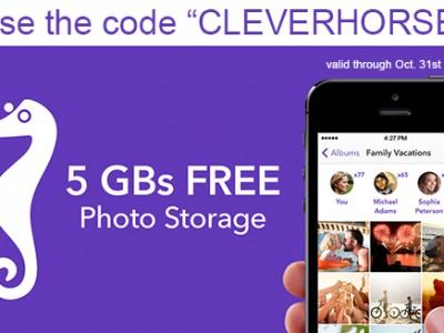 Seashorse app storage