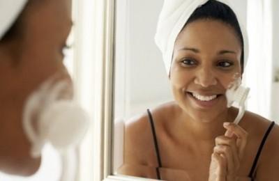 skin brush exfoliation