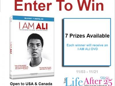 I AM Ali giveaway
