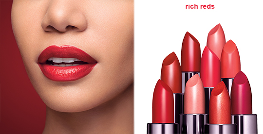 covergirl rich reds