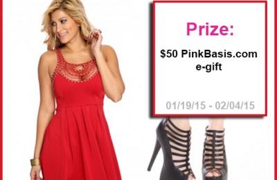 Pink Basis Valentines Giveaway
