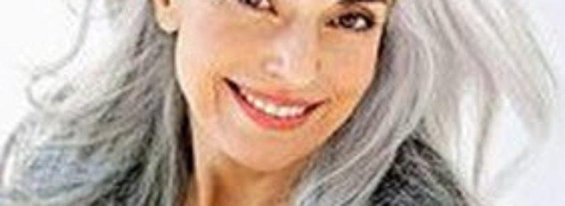 gray hair Fifty Shades of Grey fashion