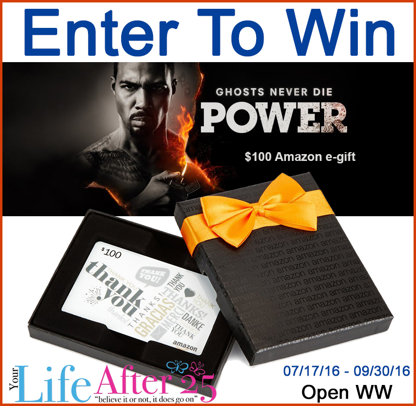 Power Fans! The Wait Is OVER - Enter To Win Power Tv $100 Amazon Gift Card Giveaway!