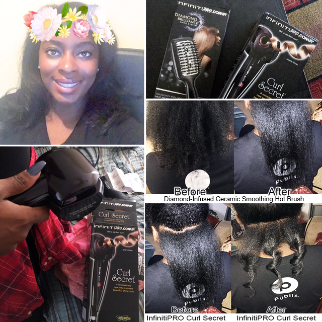 Get Two Looks for Your Locks with Conair: Testing Them On My Natural Hair!