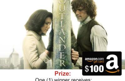 Enter To Win: Outlander Season 3 Fans $100 Amazon GC Giveaway!
