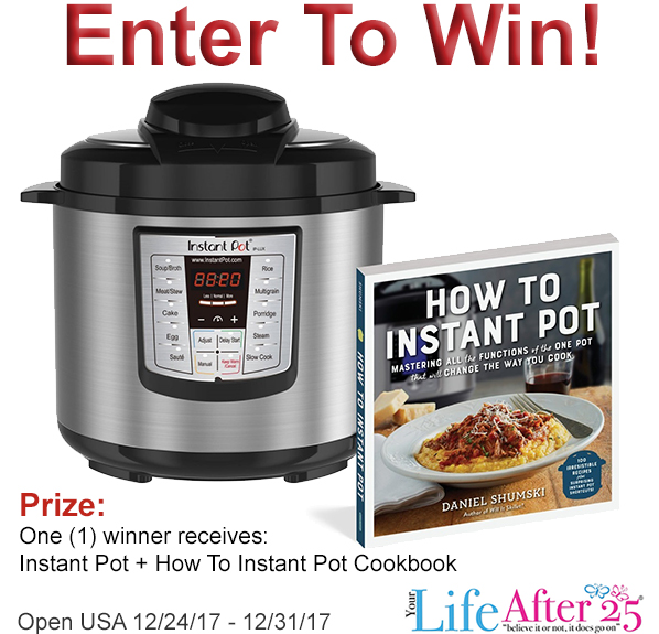 Learn How to Instant Pot! Enter To Win An Instant Pot + Instant Pot cookbook