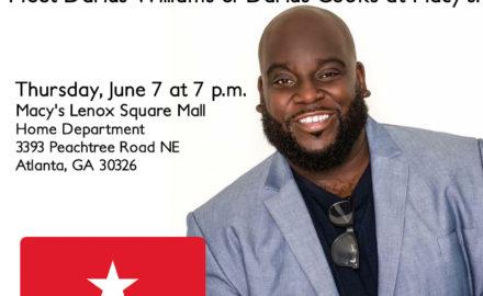 Atlanta Join Us For A Night Of Food and Fun With Chef Darius Williams aka Darius Cooks